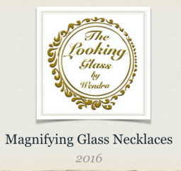 The Looking Glass Magnifying Necklace by Wendra